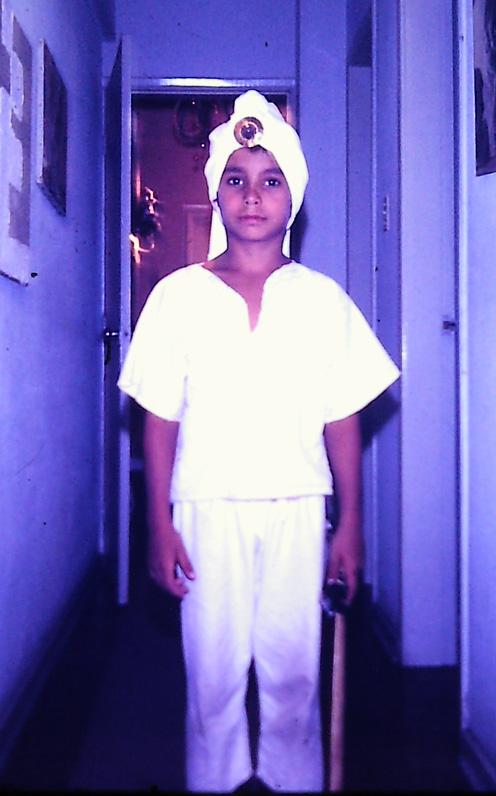 arabe menino