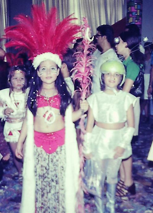 carnaval claudia astronauta 1