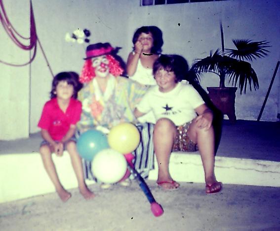 carnaval eu palhaço crianças