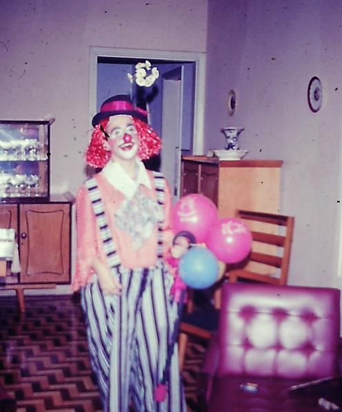 carnaval eu palhaço