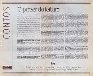 entrevista para o Estado de Minas